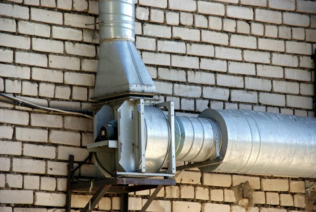 outdoor air duct system